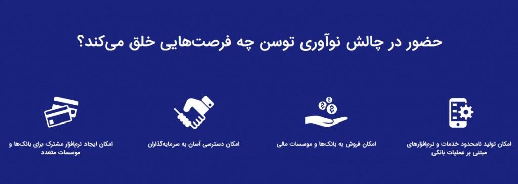 اولین دوره ماراتن برنامهنویسی بر پایهی سرویسهای بانکی، به نام «چالش نوآوری توسن» از ۱۳ تا ۱۵ آبان ۱۳۹۴ در دانشکده کامپیوتر دانشگاه امیرکبیر برگزار خواهد شد.