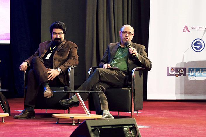 پنل کسب و کار های اینترنتی در پسابرجام در مراسم اختتامیه هشتمین جشنواره وب و موبایل ایران