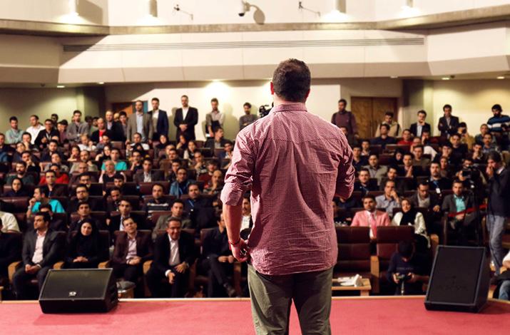 اهدا جوایز مراسم اختتامیه هشتمین جشنواره وب و موبایل ایران